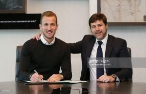 Harry Kanesigns new six-year deal at Tottenham Hotspur