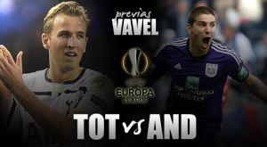 Tottenham Hotspur - Anderlecht FC: White Hart Lane decide el grupo J