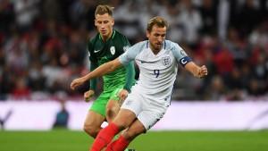 Qualificazioni Mondiali - Kane porta tutti in Russia. Inghilterra batte Slovenia 1-0