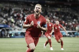 """Autor dos gols da vitória inglesa, Harry Kane valoriza grupo: """"Poderíamos ter marcado mais"""""""