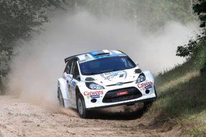 Alta velocidad en el Rally de Estonia
