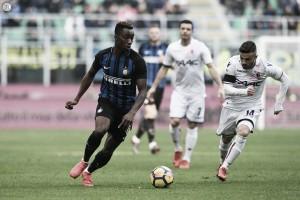Serie A: l'Inter torna alla vittoria nel segno di Eder e Karamoh, il Bologna finisce in 9 (2-1)