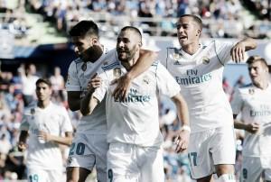 Benzema iguala a Gento con 182 goles