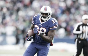 Buffalo Bills' Karlos Williams suspended