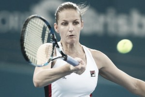 WTA Brisbane: Karolina Pliskova cruises to comfortable victory over Asia Muhammad