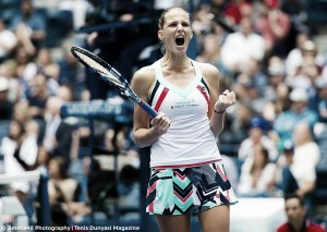 US Open: Karolina Pliskova saves a match point, edges past Zhang Shuai