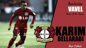 VAVEL Bundesliga Team of the Season - Karim Bellarabi: Another super season for the Leverkusen wide-man