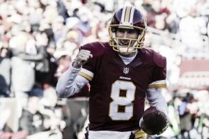 Redskins y Packers lideran Este y Norte en solitario