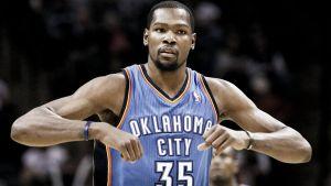 Kevin Durant, listo para competir