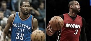 Durant y Wade, Jugadores de la Semana