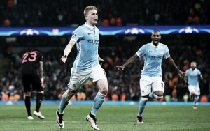Manchester City (3) 1-0 (2) Paris Saint-Germain: Citizens qualify for last-four in nail-biting finale