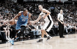 NBA Playoffs 2016: Oklahoma City Thunder look to close out San Antonio Spurs in game six