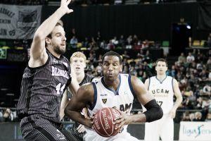 Thomas Kelati, a un paso de renovar con el UCAM Murcia