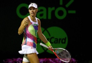WTA Finals: tris Kerber, Keys battuta ed eliminata