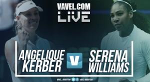Resumen Angelique Kerber vs Serena Williams (6-3 y 6-3)
