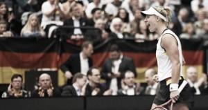 Bencic y Kerber vencen y ponen tablas entre Suiza y Alemania