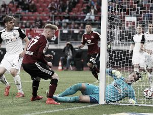 1. FC Nürnberg 2-0 SV Sandhausen: Kerk and Burgstaller come up trumps for Weiler