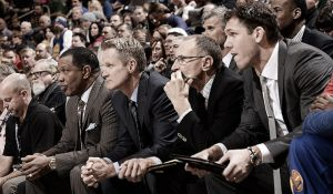 Mike Budenholzer y Steve Kerr, entrenadores del All-Star Game