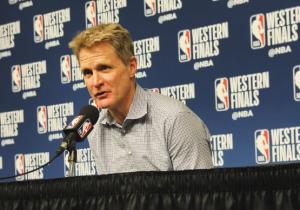 """NBA Playoffs - Golden State impatta la serie, Kerr elogia i suoi: """"Grande secondo tempo, grandissima difesa"""""""