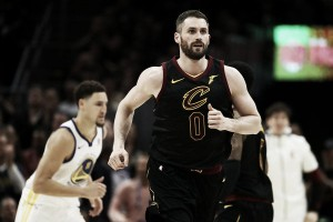 Kevin Love signs four-year contract extension with the Cleveland Cavaliers