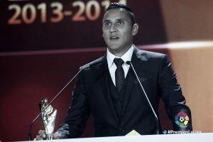Keylor Navas, premiado como mejor portero de la pasada campaña