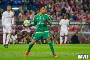 """Keylor Navas: """"Cuando uno llega al Real Madrid, el objetivo que queda es mantenerse"""""""