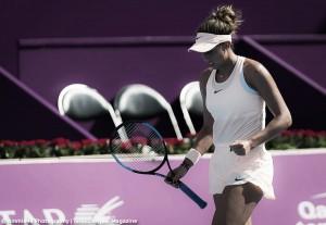 WTA Doha: Madison Keys outclasses Wang Qiang in clinical display of aggressive tennis