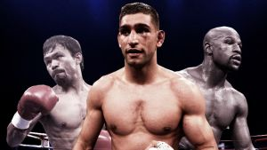 Amir Khan backs Floyd Mayweather to triumph in May 2 showdown