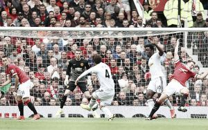 Manchester United 1-2 Swansea City: Utd beaten in Van Gaal's first competitive game