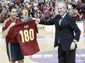 Kike Boned, el jugador con más internacionalidades