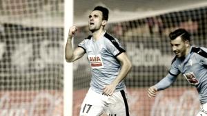 Kike García, retorno con gol