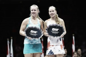 2017 Season Review: Kiki Bertens and Johanna Larsson, the surprise WTA Finals finalists