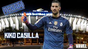 Kiko Casilla, nuevo fichaje para el Real Madrid