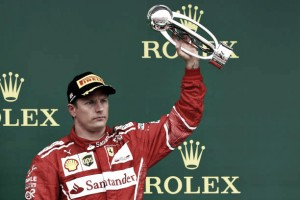 Ferrari anuncia renovação de contrato de Kimi Räikkönen para temporada 2018