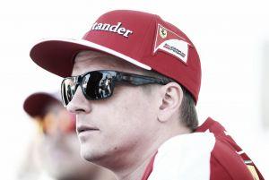 """Kimi Räikkönen: """"Ser terceros no es ideal porque querríamos estar al frente"""""""