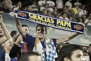 """19.283 gargantas gritan: """"Sí, soy del Real Zaragoza"""""""