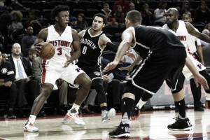 Detroit sigue con paso firme y cumple ante Brooklyn