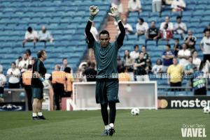 Resumen temporada Real Madrid, Puntuaciones de la portería: Keylor Navas