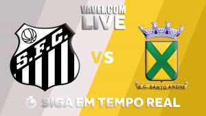 Resultado Santos x Santo André pelo Campeonato Paulista 2018 (2-0)