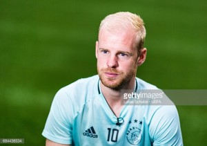 Everton close to agreeing a fee with Ajax for Davy Klaassen