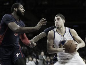Thompson trascina i Warriors al successo sui Pistons