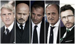 Le point sur les 20 entraîneurs de la Serie A 2015 / 2016