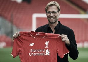 Jurgen Klopp hails himself as 'the normal one' upon Liverpool FC unveiling