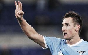 """Klose verso la Juve: """"Non sarà facile, ma giochiamo in casa e tutto può succedere"""""""