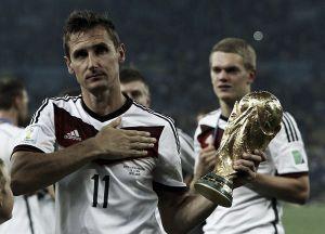 Miroslav Klose concluye su leyenda con la Mannschaft