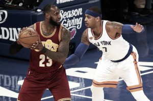 Cleveland Cavaliers cruise by New York Knicks in second meeting of season