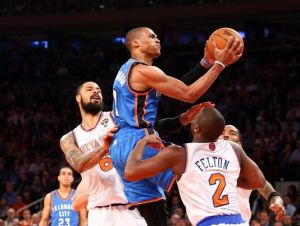 Preview: New York Knicks Take On Russell Westbrook And The Oklahoma City Thunder