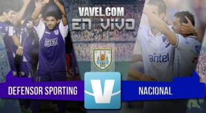 Resultado Defensor Sporting vs Nacional en el Clausura 2015 (0-0)