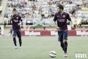 Jordi Alba, el proyectil con objetivo