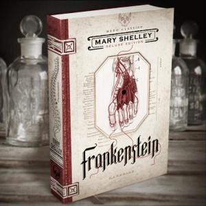 Frankenstein de Mary Shelley, o novo lançamento da DarkSide Books